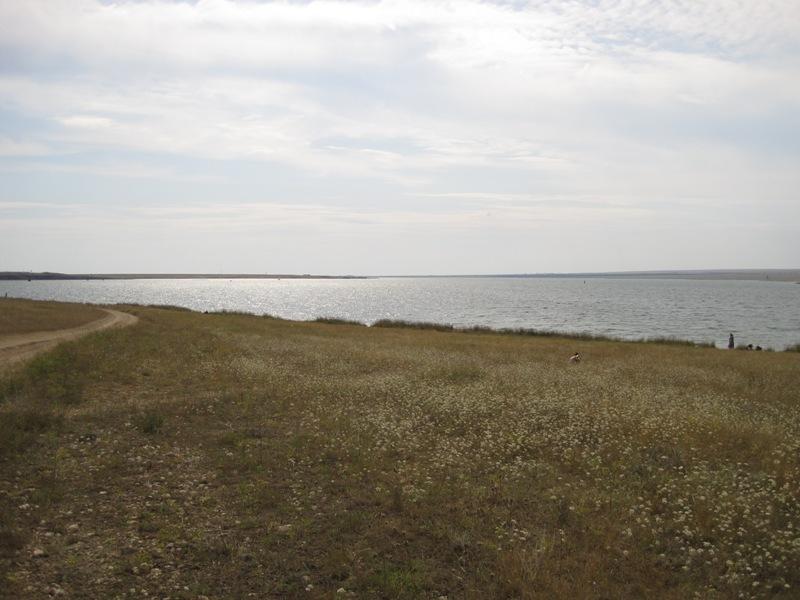 Озеро Донузлав. Новоозерне