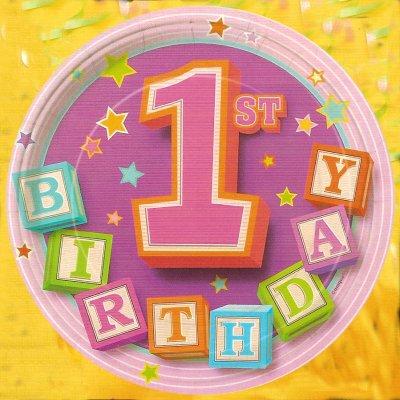Перший день народження блогу!