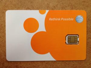 Nano-SIM від оператора AT&T