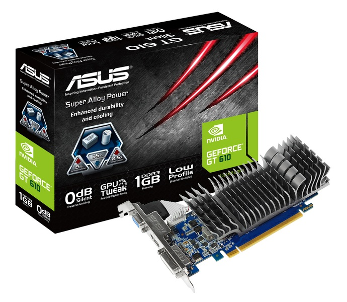 Відеокарта Asus GeForce GT 610