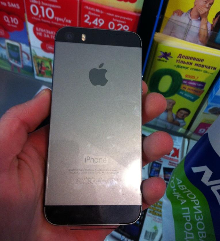 Фото iPhone 5s №1